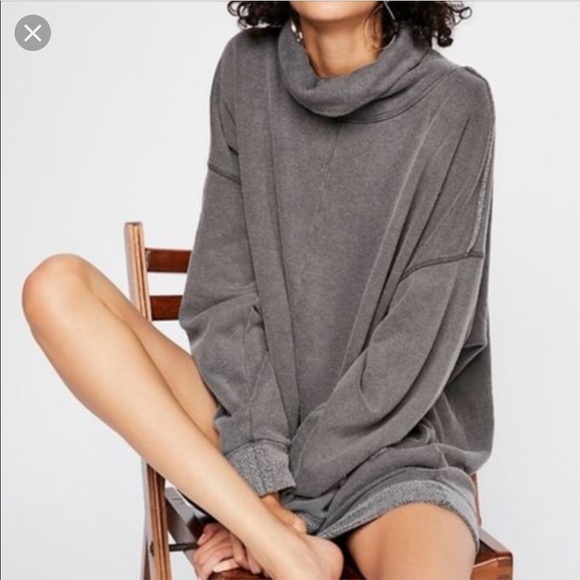 ce48853cdc1 Free People Sweaters - Free People Too Easy Turtleneck tunic sweater